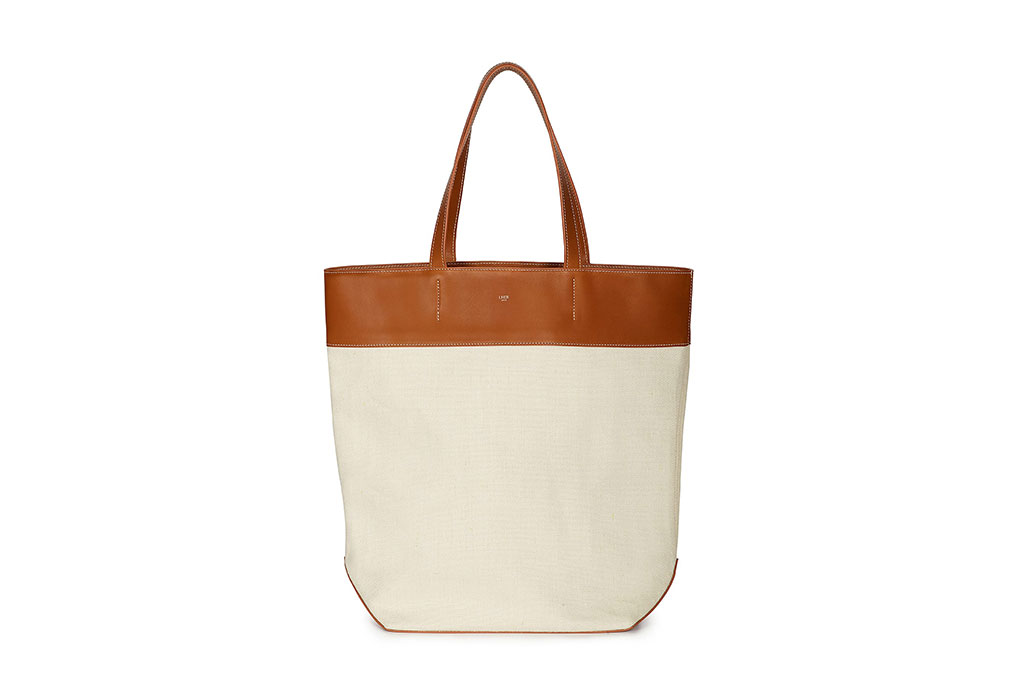 LHER Paris Fressanges Tote – Écru cotton lining